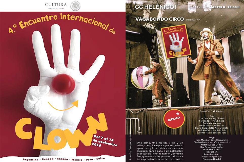 Vagabondo Circo / 4º Encuentro Internacional de Clown