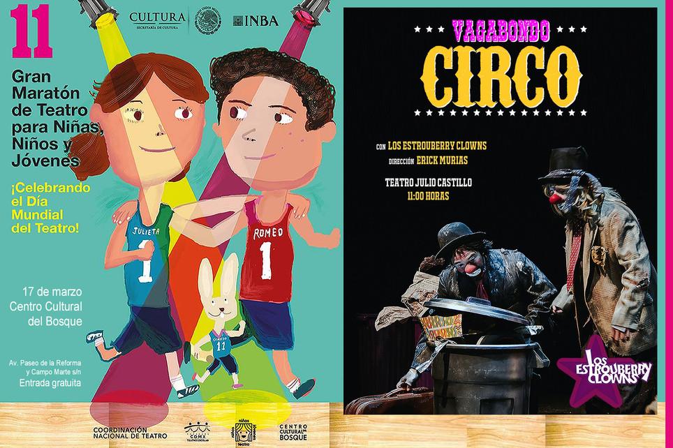 Vagabondo Circo / 11º Maratón de Teatro para Niñas, Niños y Jóvenes