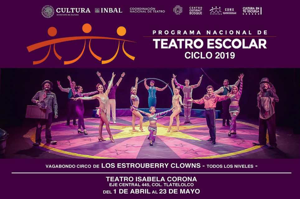 Vagabondo Circo / Teatro Escolar Ciclo 2019