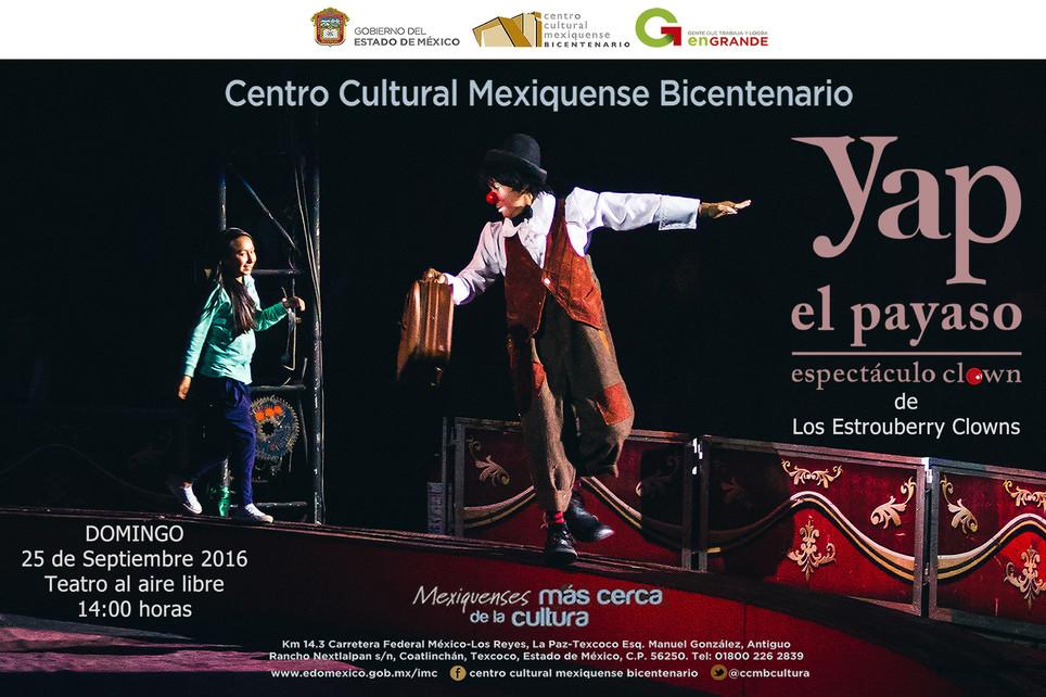 Cirko de Bolsillo / Domingos Familiares 2016 en el CCMB Texcoco