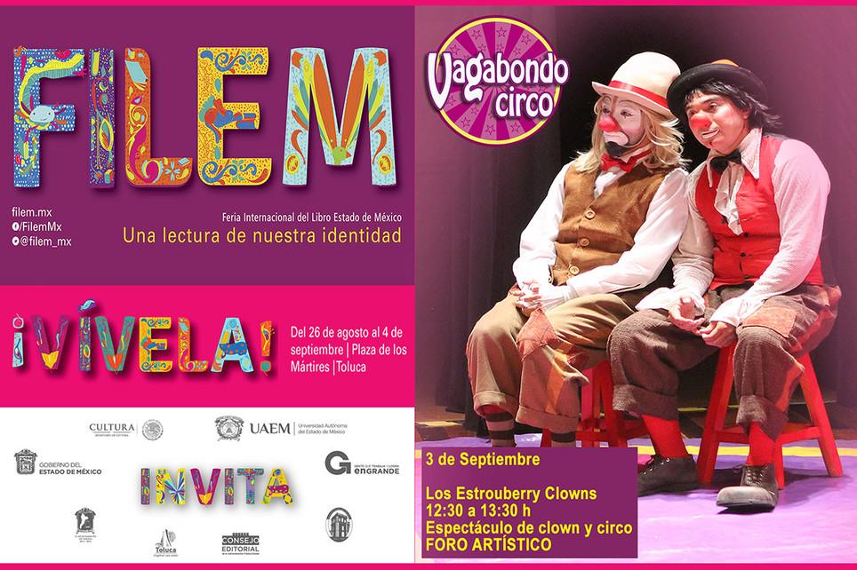 Vagabondo Circo / 2ª Feria Internacional del Libro del Estado de México 2016