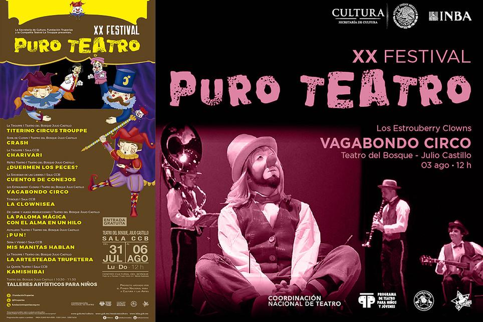Vagabondo Circo / XX Festival Puro Teatro 2017