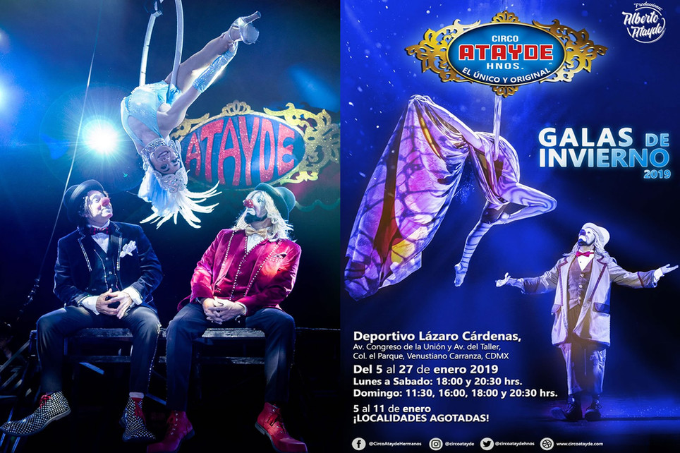 Los Estrouberry Clowns / Galas de Invierno 2019