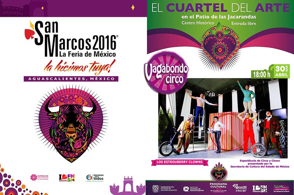 Vagabondo Circo / Feria Nacional de San Marcos 2016