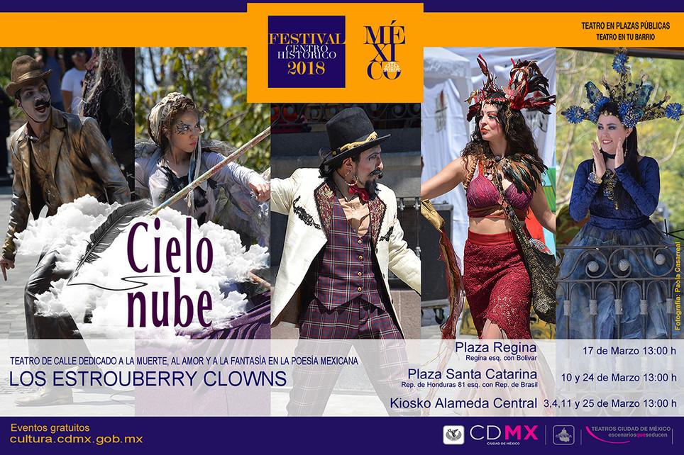 Cielo Nube / 34º Festival del Centro Histórico de la Ciudad de México