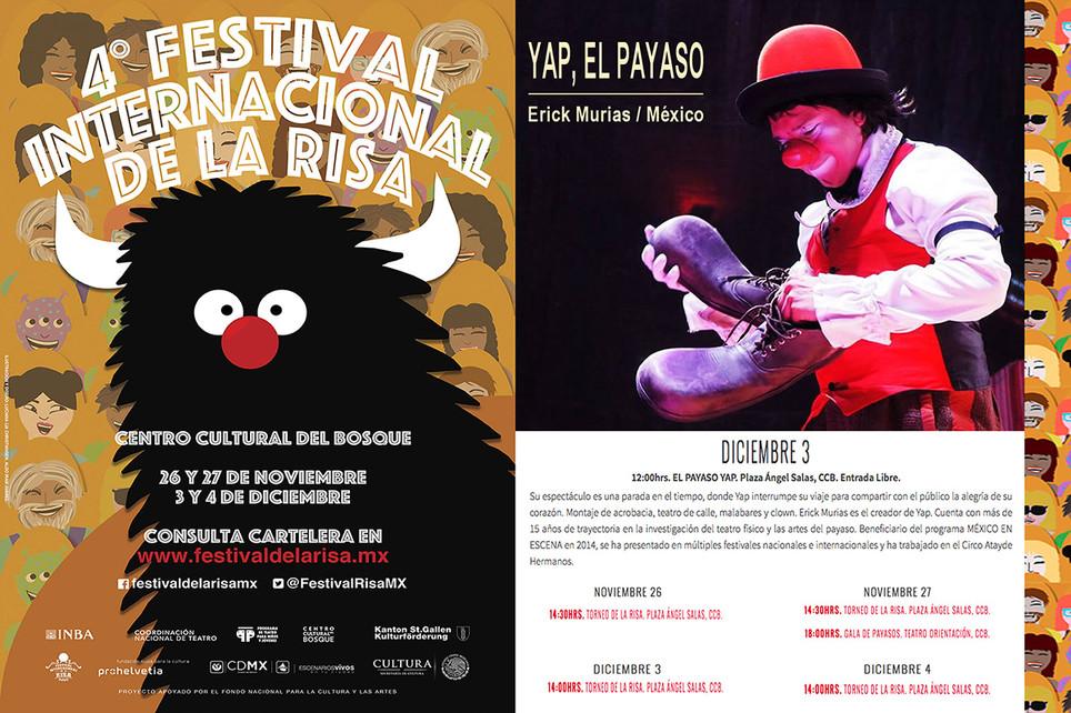 Cirko de Bolsillo / 4º Festival Internacional de la Risa