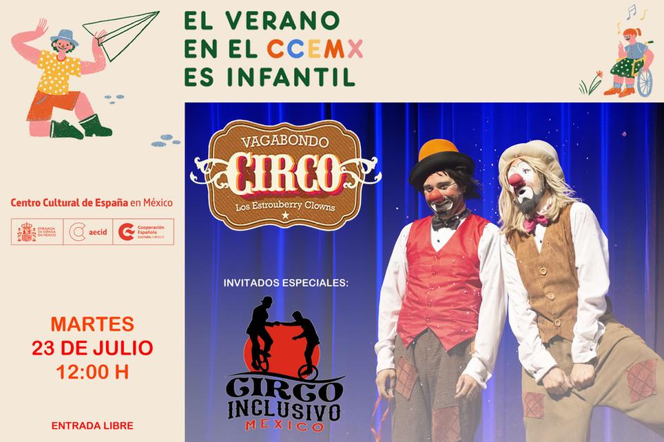 Vagabondo Circo / Verano Infantil 2019