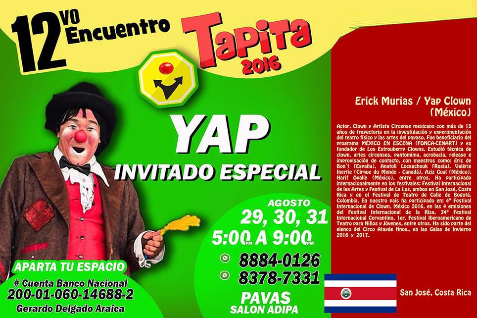 Yap, el Payaso / 12º Encuentro Clown Tapita 2016