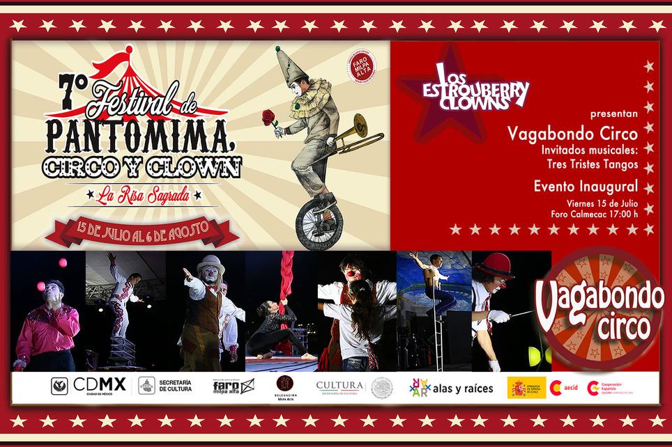 Vagabondo Circo / 7º Festival de Pantomima, Circo y Clown