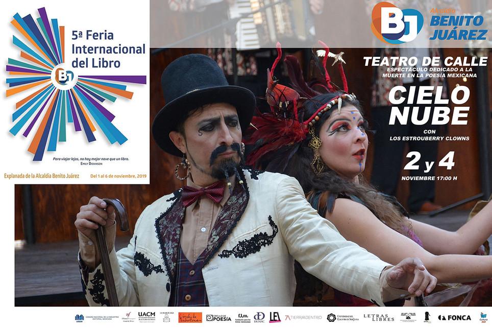 Cielo Nube / 5ª Feria Internacional del Libro, Alcaldía Benito Juárez
