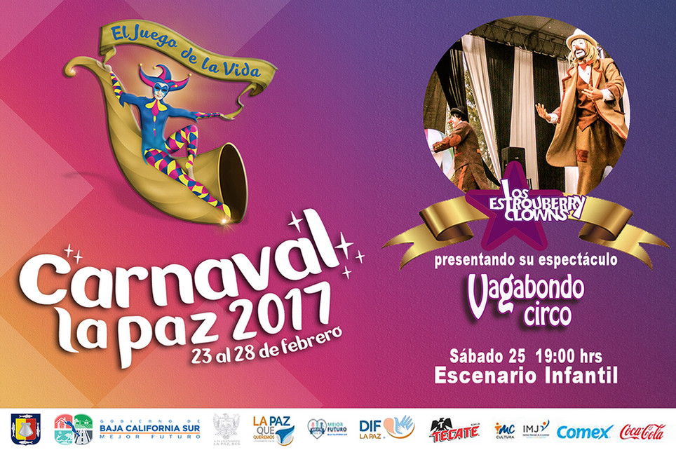 Vagabondo Circo / Carnaval de La Paz 2017