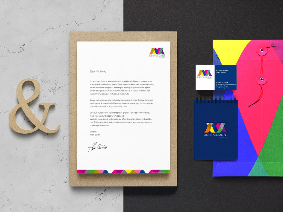 Complement_Branding Identity MockUp Vol1
