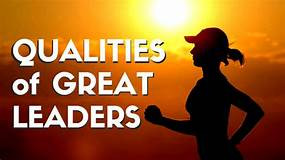 Be a great leader; lead from the back
