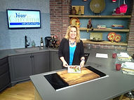 JoAnn Johnson, author, tv personality, chef. Your Carolina. Studio 62