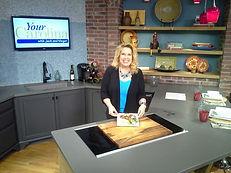 JoAnn Johnson, author, tv personality, chef. Your Carolina. Studio 62