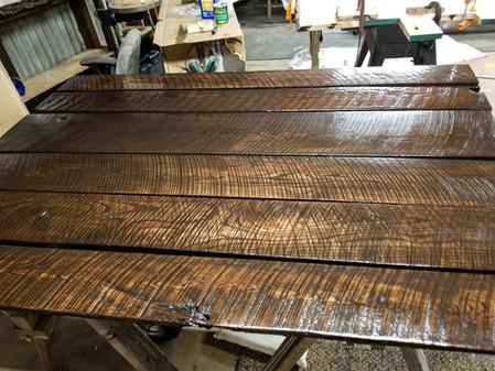 Rough Sawn Oak Planks