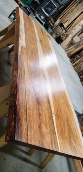 Hickory Conference Table