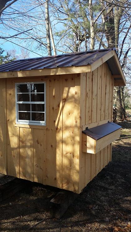 6' x 8' Chicken Coop