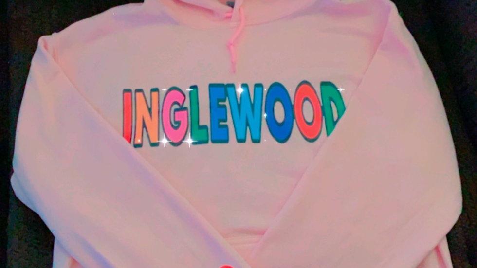 pink INGLEWOOD Hoodie