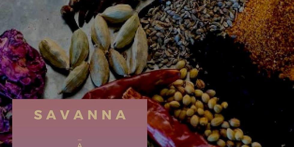 SAVANNA - A Culinary Pop-Up Experience