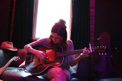 In the studio, Sargent Sound.