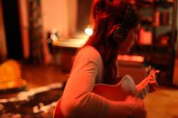 In the studio, Sargent Sound