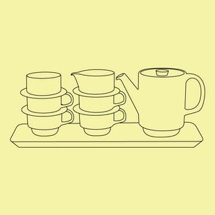 Ralli Tea Set
