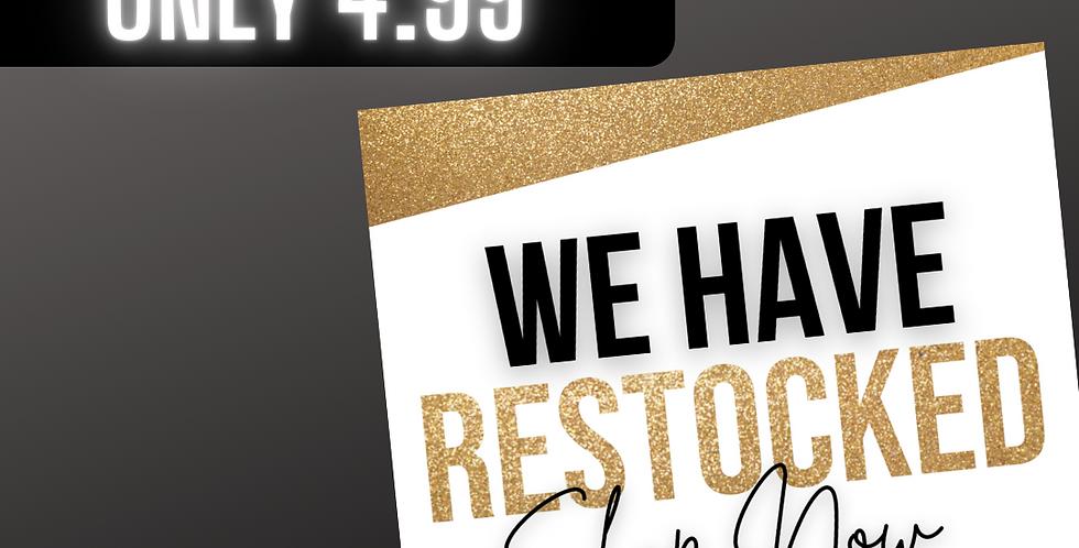 Restock (Gold)
