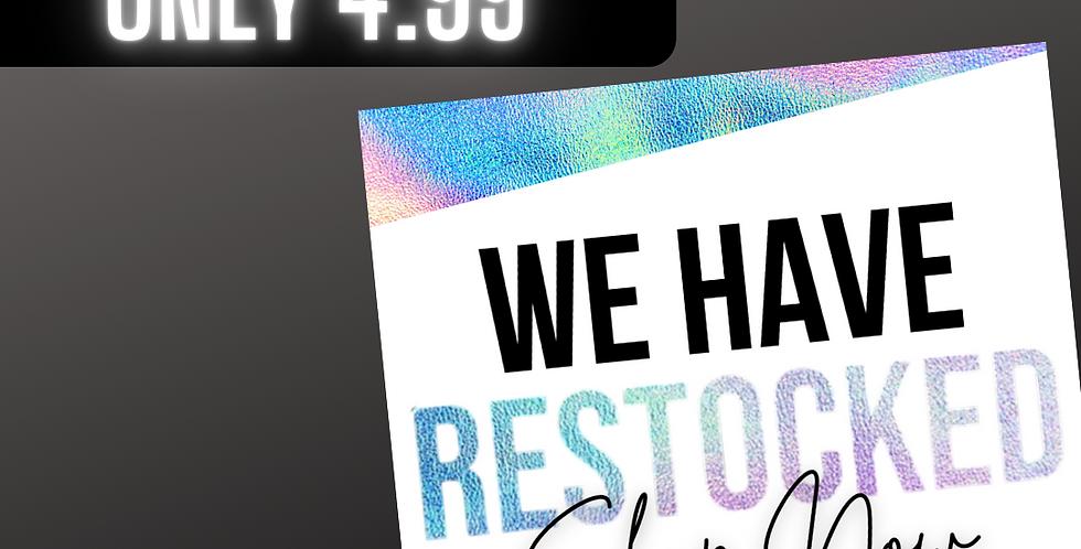 Restock  (Holographic)