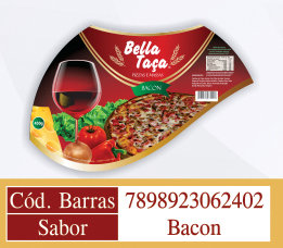 Pizza sabor Bacon