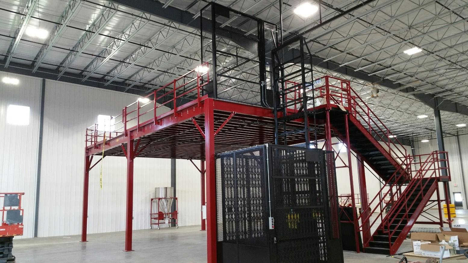 HEARTLAND MEZZANINE WITH FREIGHT LIFT
