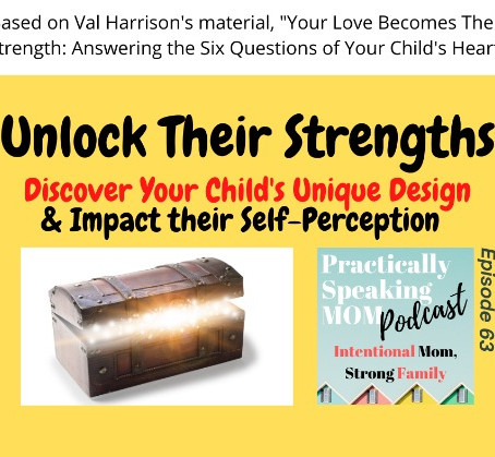 Podcast & Blog: Unlock Your Child's Strengths & Impact their Self-Perception, Episode 63