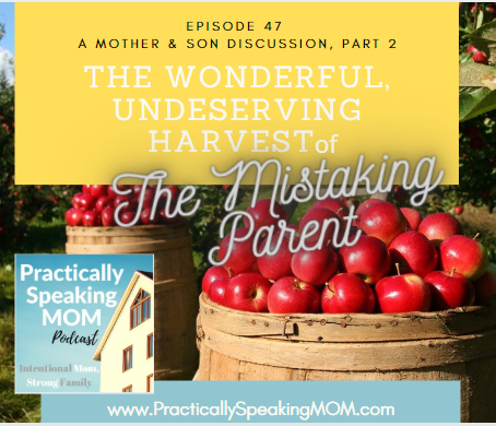 Mom's Emotions, Balancing Mercy & Standards. The Mistaking Parent, Part 2