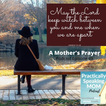 LAUNCH Time: Legacy Building for what comes next & a Mother's Prayer