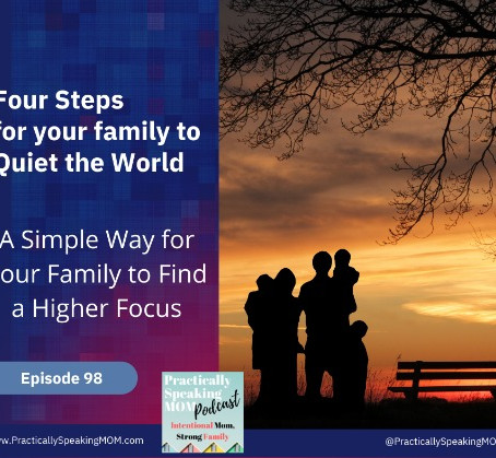 Four Steps to TAKE a TIME OUT from the World, a Simple Way for Your Family to Find a Higher Focus