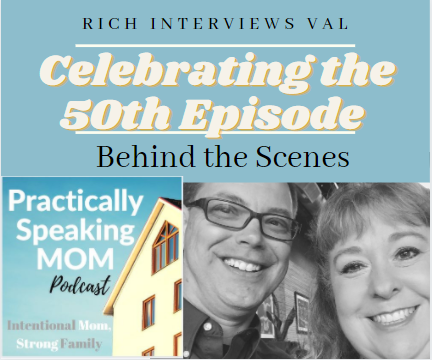 Episode 50!! Behind the Scenes - Rich Interviews Val