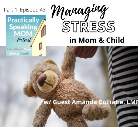 Podcast & Blog: Managing STRESS in Mom & Child - Part 1