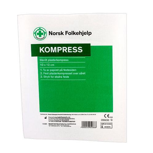 Kompress 10x12 cm
