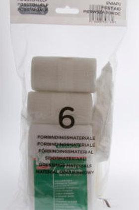 Refill 6 førstehjelpskoffert