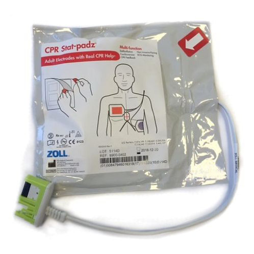 Zoll AED Plus - Stat-padz CPR elektroder voksne