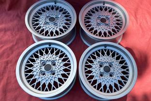 """BMW  MSW TYP 1962 A Felgensatz 7x15""""H2 BMW nuova S3 LK 4x100 ET12"""