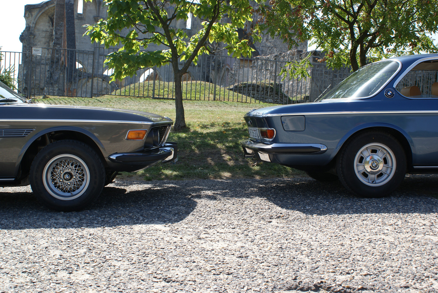 BMW E9 restored restauriert