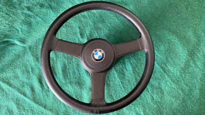 BMW Petri Sport Leder Lenkrad 38cm Komplett mit Nabe