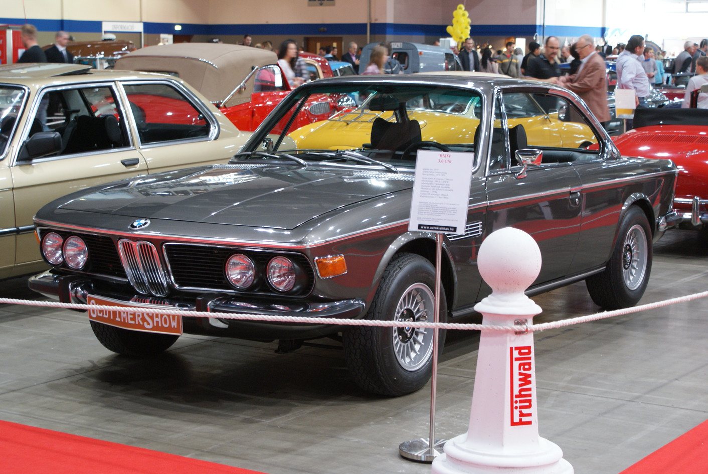 BMW E9 3.0 CSi antrazit metallic
