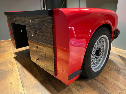 Porsche 911 Schreibtisch