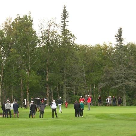Finale du tournoi de golf East Coast Pro Tour à Sept-Îles