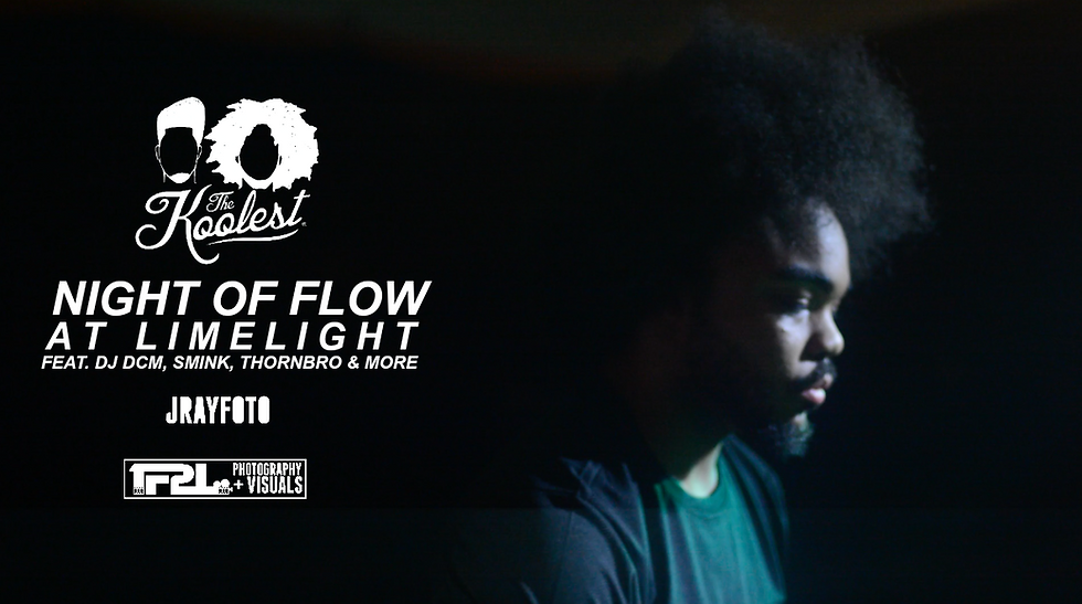 NIGHT OF FLOW (GREENVILLE, NC) [PHOTOS]