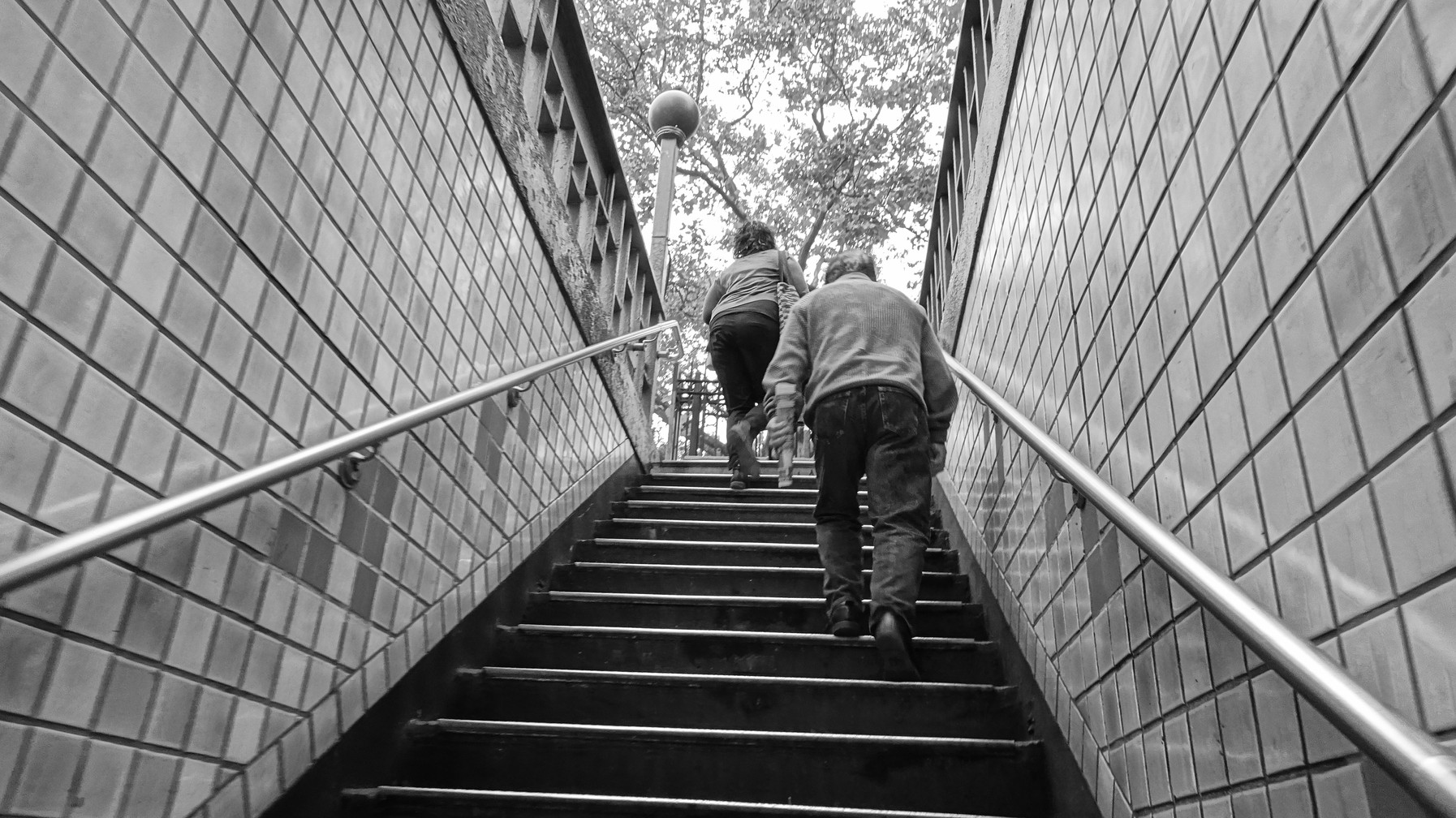 Stairway to 2nd Avenue