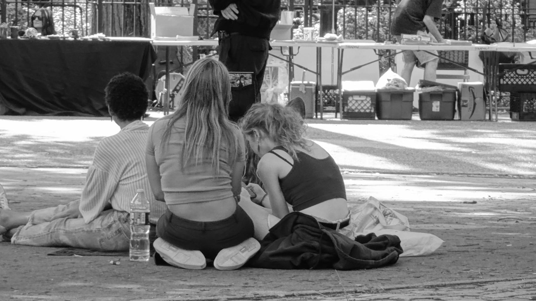 Tompkins Square Park Gathering