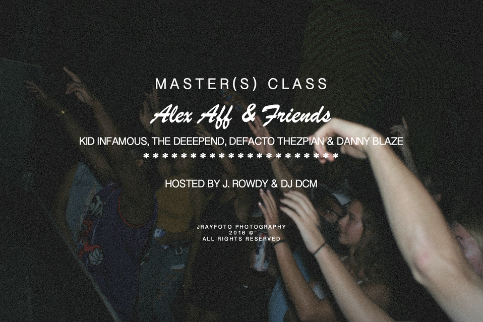 Master(s) Class: Aff & Friends - LIVE @ Local 506 [PHOTOS]
